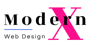 Modern X Web Design Logo(3)